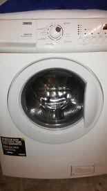 Zanussi Washer Dryer, ZKG7145, 6Kg Wash Load.