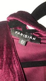 Burgundy/purple dress