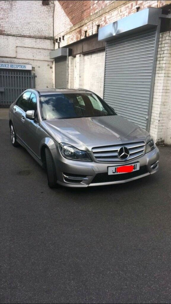 Mercedes c220 facelift model 57 plate auto
