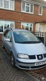 for sale seat Alhambra 7seater