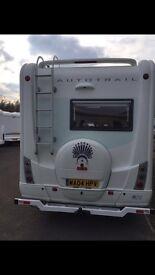 Motorhome Chieftain/solar panels/parking sensors/motorbike carrier/alloys/cooker/new fridge/cameras
