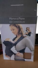 Mamas & Papas Deluxe Baby Carrier. Never Used