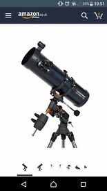 Celestron E301Q astromaster reflector telescope