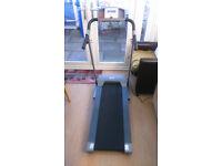 Homcom Folding Motorised Electric Treadmill Exercise Running Machine