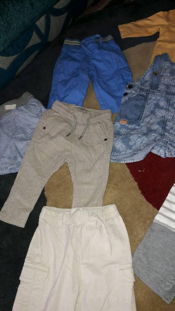 job lot boys 3-6 month lightweight clothes summer