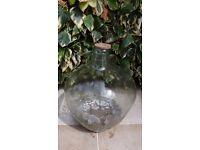 Antique Carboy - Terrarium - Large Bottle Garden