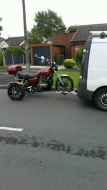 Trike towing frame