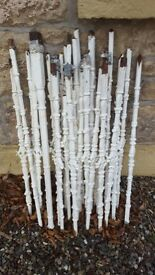 STAIRCASE - CAST IRON BALUSTERS