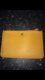 Yellow Anne Klein Clutch Bag