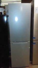 LOGIK silver fridge freezer new ex display
