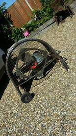 3 Phase portable fan extractor blower for business work shops unit