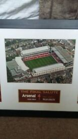 Arsenal Final Salute Picture