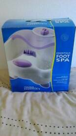 Foot spa ideal christmas present