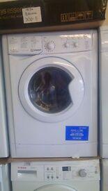 INDESIT white WASHING MACHINE 8kg, new ex display, Water balance, A++ class