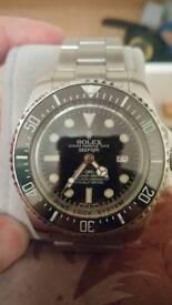 Deep Sea Sea Dweller diver style watch