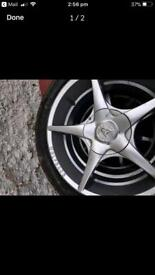 Tyers and alloy wheels
