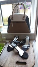 Ladies shoes and hand bag