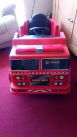 Firechief 6v ride on