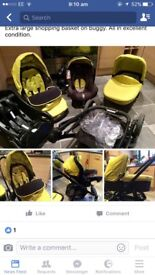 GRACO PRAM CARSEAT & ISOFIX NO TIME WASTERS PLEASE!!!