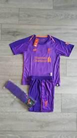 2019 Liverpool football kit 4-13 years kids