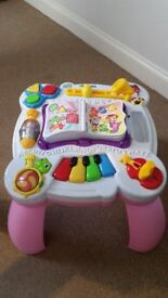 Pink Leapfrog Table Pre-loved