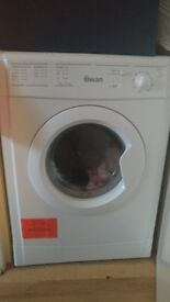 White SWAN vented tumble dryer 7kg