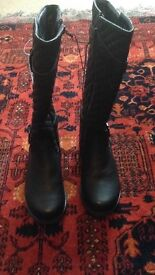 Size 2 Girl's Long Boots