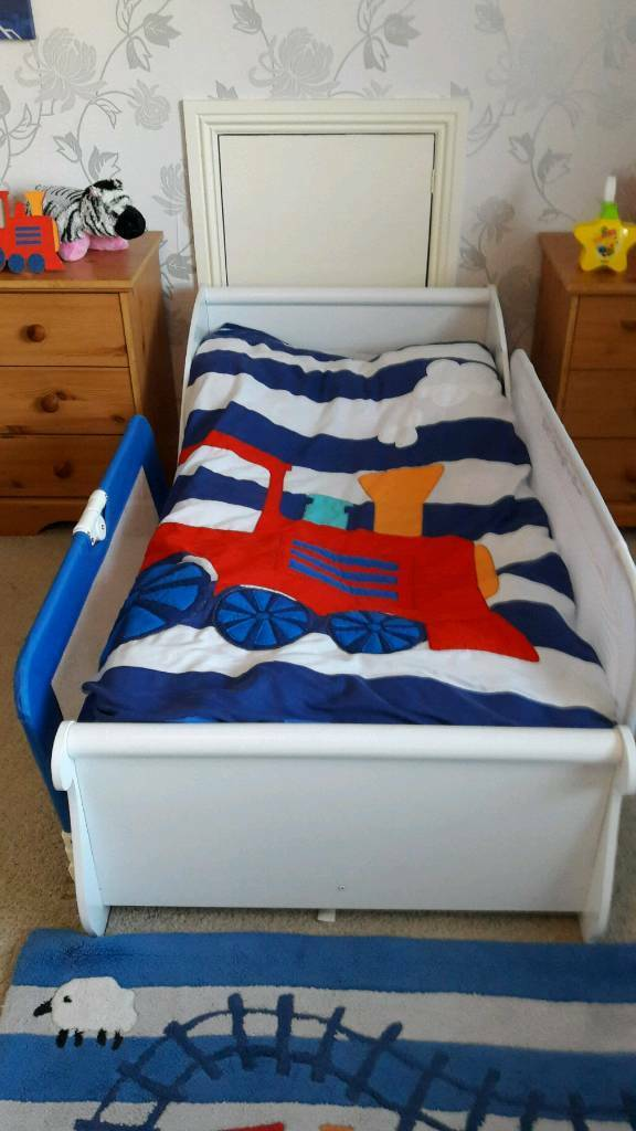 Kidkraft sleigh toddler bed