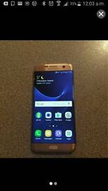 SAMSUNG s7 edge 32gb gold colour