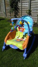 Fisher Price newborn to toddler chair with vibrate function