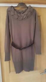 Apricot Jumper Dress