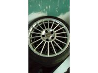 Fox racing alloys with good tyres