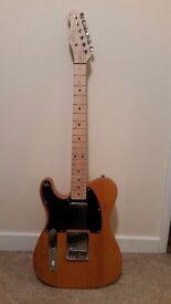 Left Handed Guitar + Marshall Amp