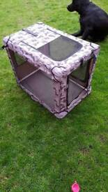 Large Portable pet crate
