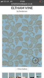 Sanderson Eltham Vine wallpaper