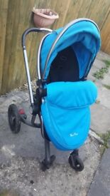 Silver Cross Surf Travel system - including isofix