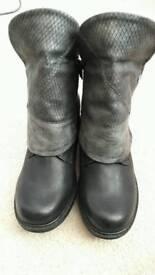 Rieker boots, ladies size 6