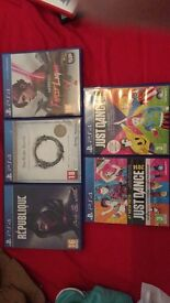 PS4 games, only played once and good condition £10 each or all for £35