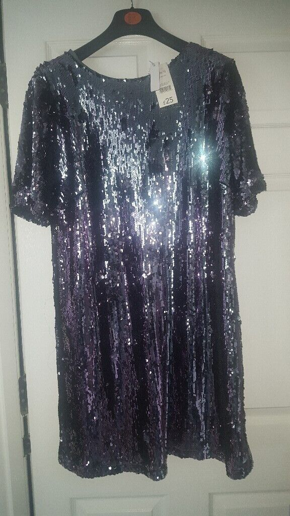 6c08c0c1 Brand new lovely grey sequince dress | in Southside, Glasgow | Gumtree
