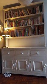 Lovely large welsh dresser. 232cm High x150cm Wide x 49cm Deep