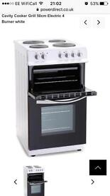 Montpellier double electric oven