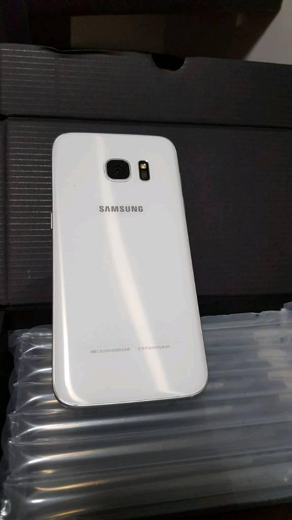 Brand new white samsung galaxy s7 32GB handset