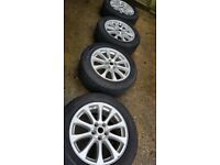"""4x 19"""" Range Rover alloy wheels (5x120) - Land Rover Discovery, VW Transporter"""