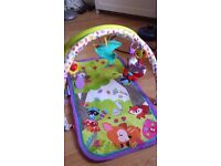 3 In 1 Activity Baby Gym Mat Fisher Price