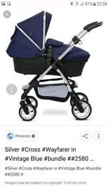 Silver cross wayfarer
