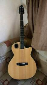 Boulder Creek OM guitar ECRM2-N