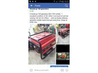 Honda 2.7kw generator
