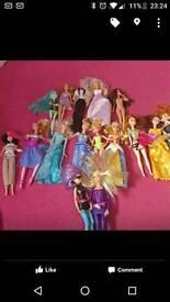 Barbie and princess bundle