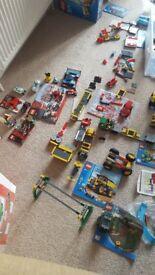 Lego including city and superhero REDUCED