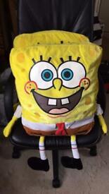 Spongebob squarepants soft toys x 2